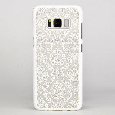 For Samsung Galaxy S8 S8PLUS Hard PC Palace flower Sexy Lace Phone Case