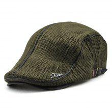 0ab0edaff20 22% OFF JAMONT Men Casual Ancient England Knit Autumn and Winter Thick Warm  Beret