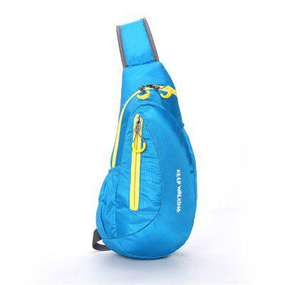 Sports Outdoor Bag Waterproof Nylon Chest Bag Travel Leisure  Backpack Dia