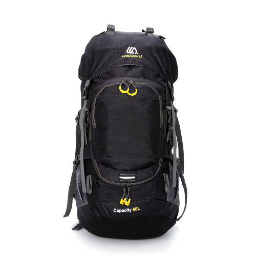 52c63b1148 2019 New Sports Outdoor Backpack 60L Mountaineering Bag with Rain Cover  Hiking B