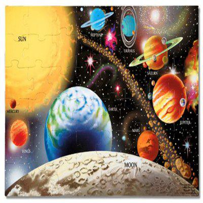3D Jigsaw Paper Puzzle Universe Block Assembly Birthday Toy