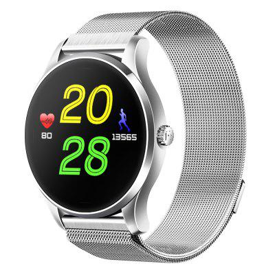 Bluetooth Smart Sport Watch Heart Rate MonitorPolished By 3D Curved Screen St