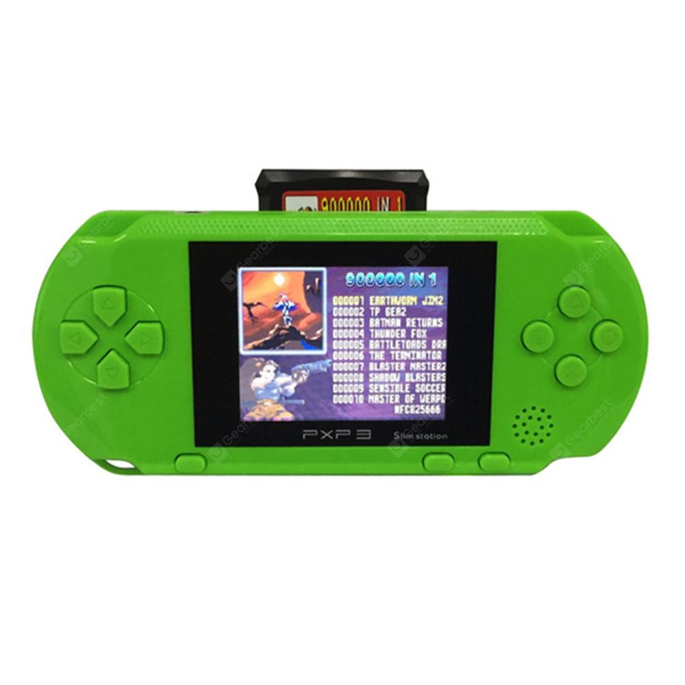 Coolbaby PXP3 3 Inch 16 Bit Video Games Player Handheld Card and Console -  Green Apple