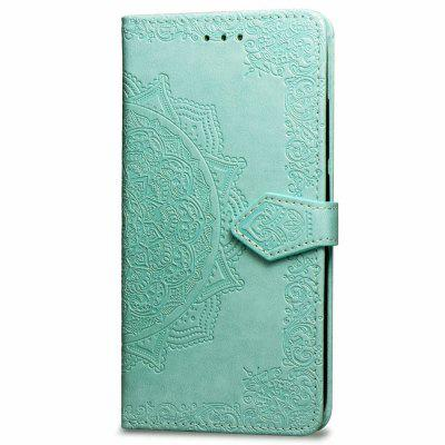 Datura Embossing PU Leather Wallet Stand Case for Xiaomi A2 Lite / Redmi 6 Pro