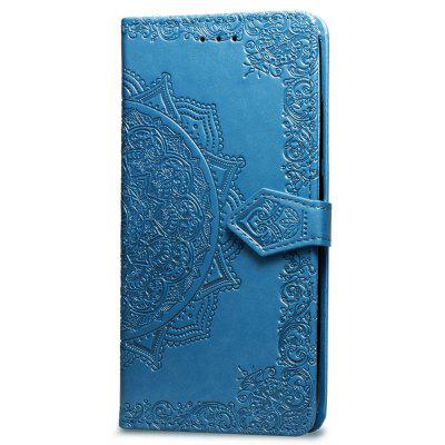 Datura Embossing PU Leather Wallet Stand Case für Xiaomi Pocophone F1