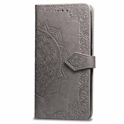Datura Embossing PU Leather Wallet Ständer für Xiaomi Redmi 6