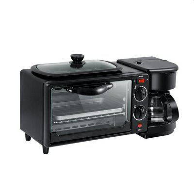 3-IN-1 Multifunction Family Breakfast Center Coffee Machine Oven