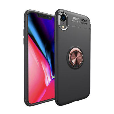 360 Ringhouder Kickstand Magnetic Car Cover voor iPhone XR Case