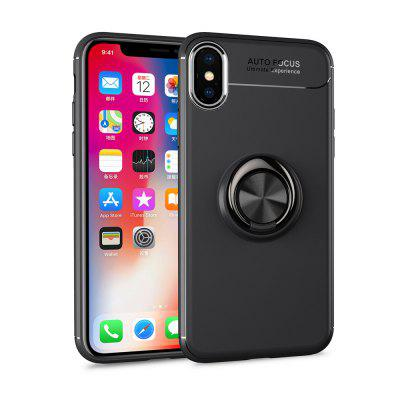 360 Ring Stand Holder Kickstand Magnetic Car Cover for iPhone XS/iPhone X Case