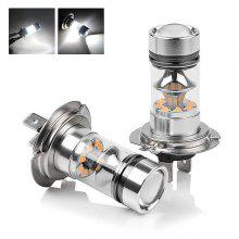 Single H7/H4 High Power 100 W Fog Light LED Bulb