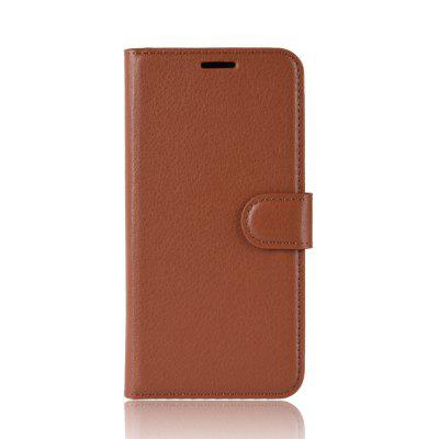For Wiko Sunny 3 Plus Card Protection Leather Cover Case