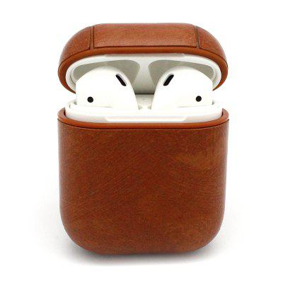 PU Leather Protective Bag Cover Pouch Sleeve Fit for Apple Air Pods Case