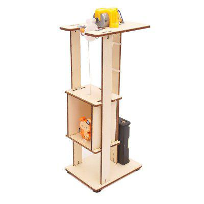 DIY Elevator Lift Children Science Education Toy