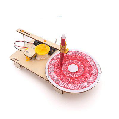 DIY Electric Plotter Children Science Education Toy