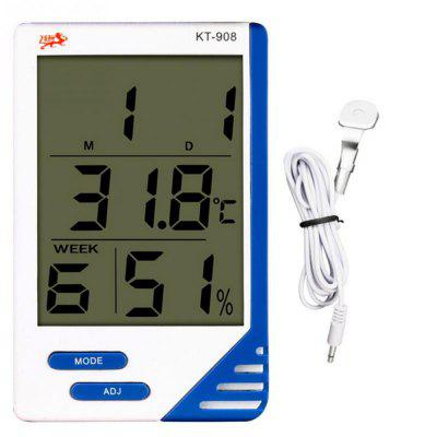KT908 High Accuracy LCD Digital Thermometer Hygrometer Indoor and outdoor