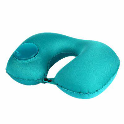Automatic Inflatable Travel Pillow Car Inflatable Pillows Neck Cushion