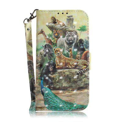 Zoo Leather Case for Samsung A 3 2017/A 320