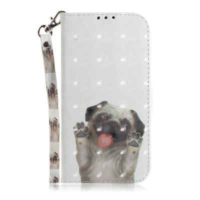 Pug Leather Case for Samsung A 3 2017/A 320