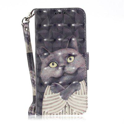 Carrying A Cat Leather Case for The Samsung Galaxy S 9