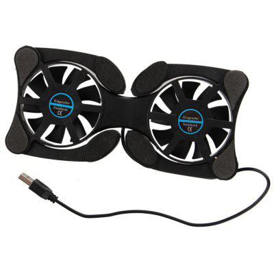 USB Mini Laptop Fan Cooler Cooling Pad Folding Cooler Fan