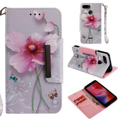 Magnetic Flip Case For Xiaomi Redmi 6 Full Painted Wallet Cover For Redmi 6A