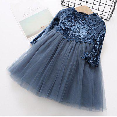 New Girl Dress Fashion Style Long Sleeve Dress