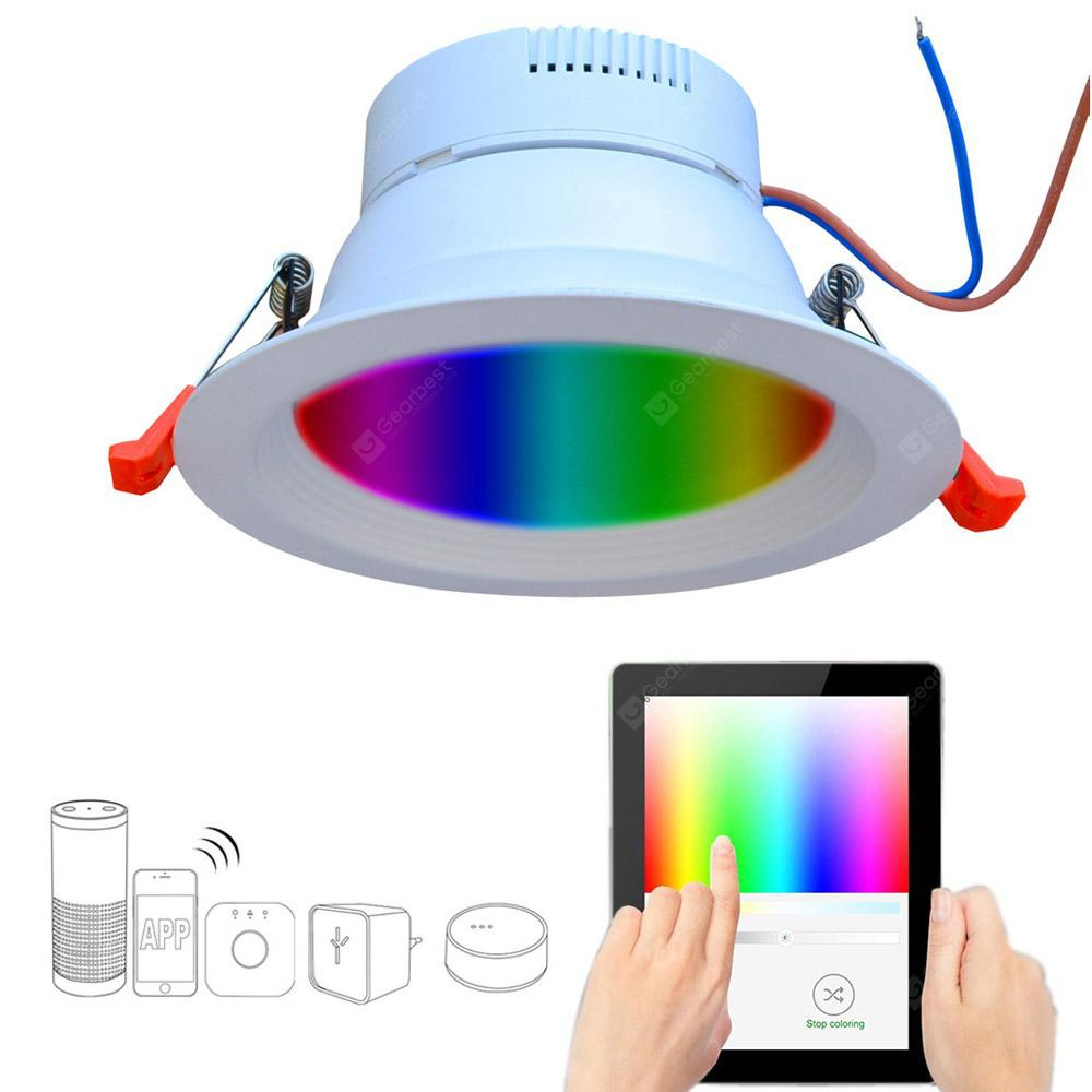 Smart Home 9W RGBW LED Downlight