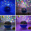 5V Star Light Rotating Projector Lamp for Kids Bedroom - BLUE - DEEP SKY BLUE
