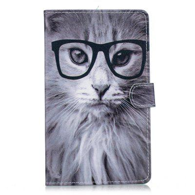 Flip PU Leather Stand Case for Huawei Mediapad M5 - 8 Tablet Cove 8.4 inch