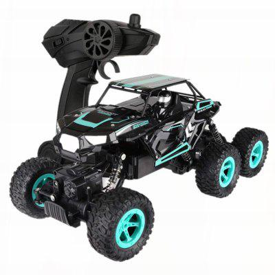 Parrokmon 2.4G 1 by 14 RC High Speed Crawler Car Remote Control Alloy 6WD Truck