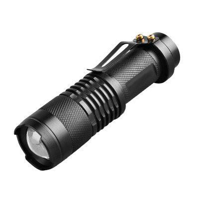 Mini UV Flashlight Black Aluminum LED UV Light Lamp 5W