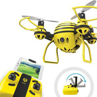 Mini FPV Drone RC Quadcopter with HD WiFi Camera Support Phone Control