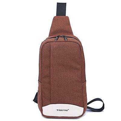 Tigernu Men'S Casual Fashion Student'S Simple and Slanted Chest Bag