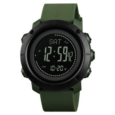 SKMEI New Altimeter Barometer Thermometer Altitude Men Digital Sport Wrist Watch