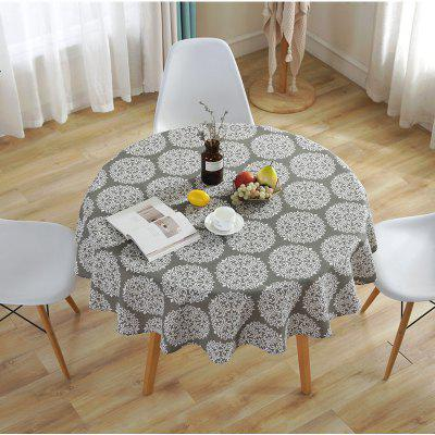 Polyester Cotton Round Table Cloth