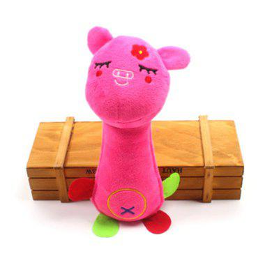 Pet Plush Sound Toy Limpeza de dentes moles