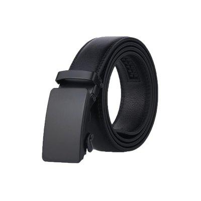 Men's Belt Personality All Match Black Automatic Belt Accessory