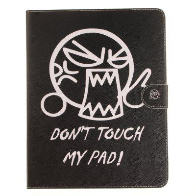 Don'T Touch Me iPad Leather Case for iPad 2/3/4