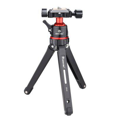 DINVEL DT-01 Tabletop Tripod with Ball Head and 1/4' Quick Release Plate