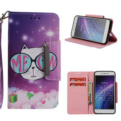 Wallet Full Painted Pattern Leather Case For Xiaomi Redmi 5A Magnetic Flip Cover