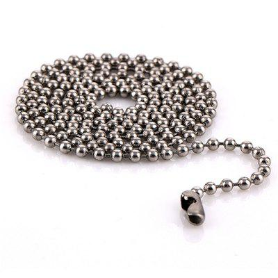 Simple Fashion Women's Bead Stainless Steel Necklace