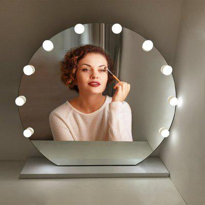 10 LED Bulbs Vanity Mirror Light  String USB Charging Makeup Cosmetic Lamp