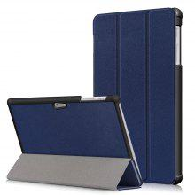 Castel Tri-Fold Leather Case for Microsoft Surface Go