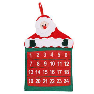 DIY Felt Christmas Advent Calendar