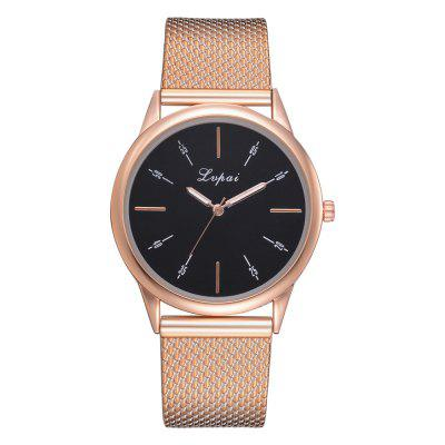 Leisure Female Money Rose Gold Watch Brand Fashion Leisure Popular Silicone Quar