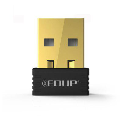 EDUP Usb Wireless Wifi Adapter 150MBPS Wi-Fi Receiver 802.11N Support Windows Ma