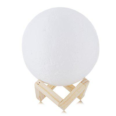 3 D Touch Colorful USB Charging Small Night Light To The Moon