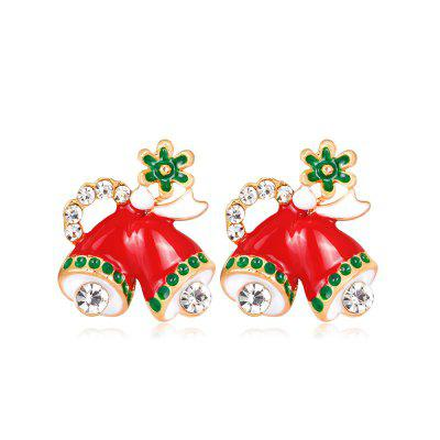 Stylish Christmas Small Bell Earrings