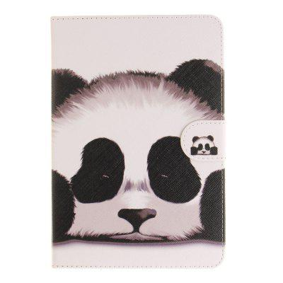Panda Flat Leather Case for iPad Air