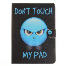 Angry Flat Leather Case for iPad 2017 9.7 Inch
